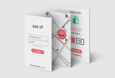 Bonup UI Design #iconcontestxd I Herzblut & Bock