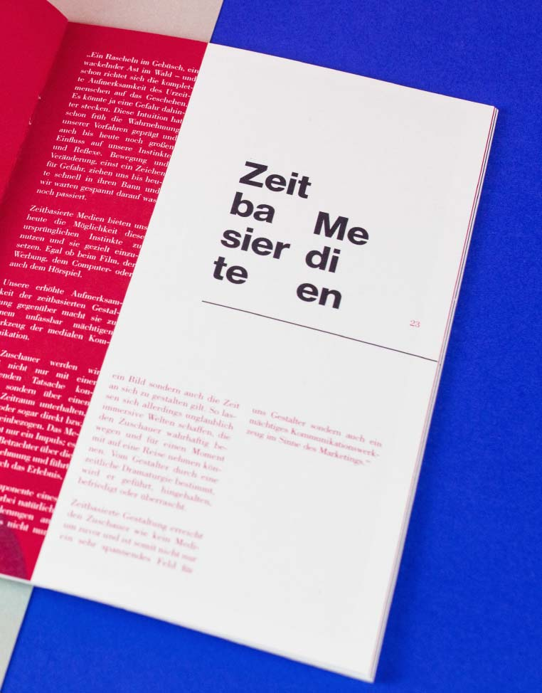 Typografie und Editorialdesign I Mainz