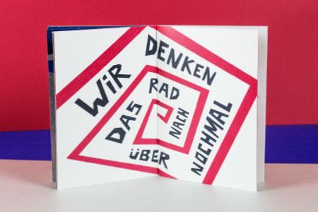 DAS DORF edgy typography I Herblut & Bock