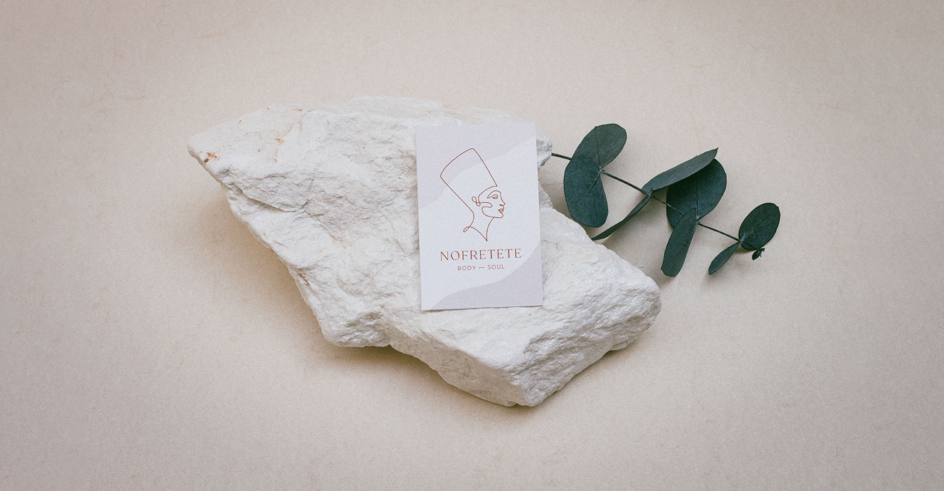 Nofretete Beauty Business Card Design